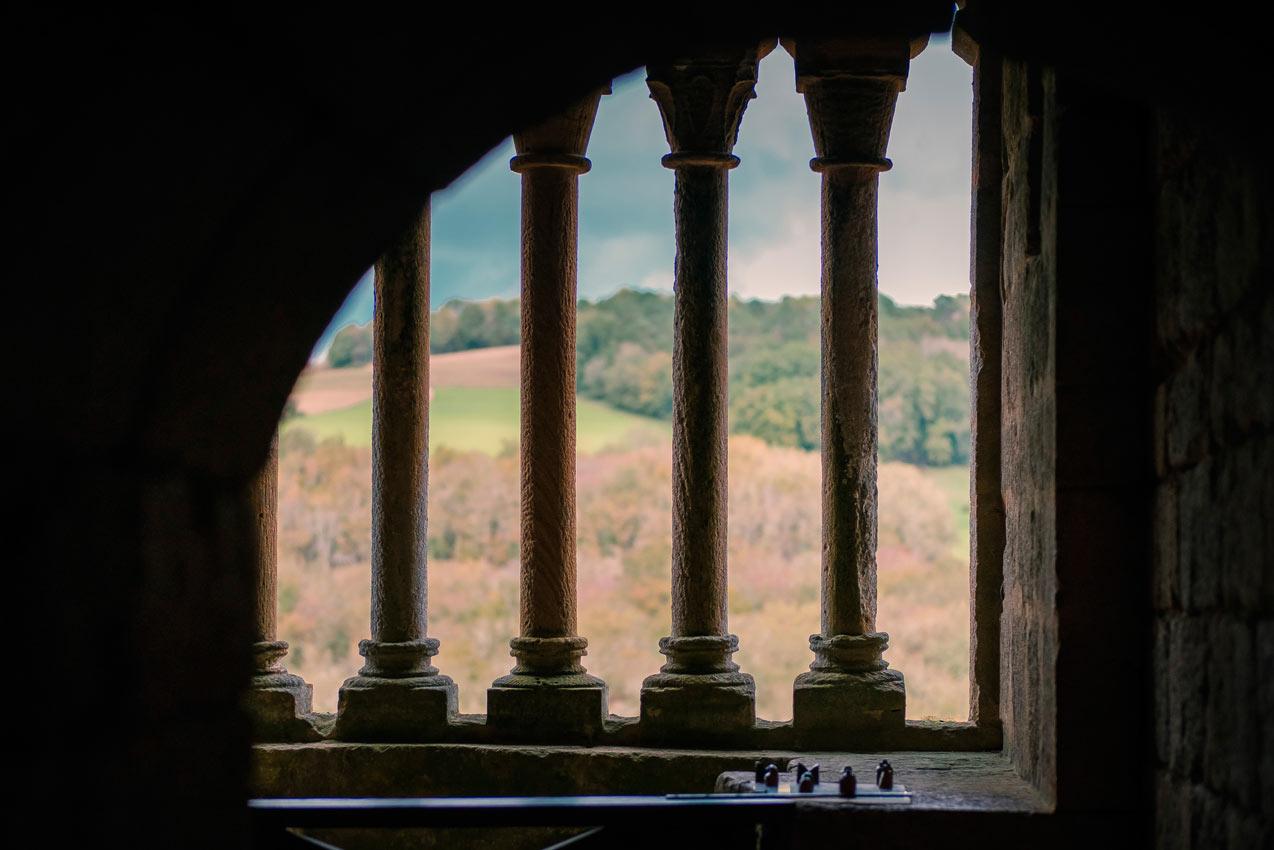 Visite d'un château unique en dordogne